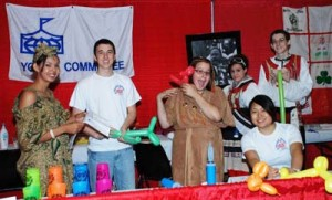 Youth Booth in 2009