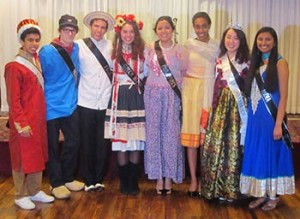 These are the Ambassador contestants in 2014.