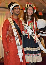 2015 Ambassadors Harsh Agrawal, India Oksana Cerny, Czech Republic