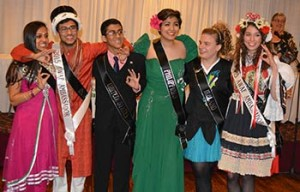 Here are the 2015 contestants. The winners are in the white sashes (Oksana Cerny, Czech Republic Harsh Agrawal, India). This pageant was held at Creative Catering's Celebration Center on Poe Avenue, March 14. The judges for the pageant were Brad Kerstner, Debbie Placke and Jim Zaiden.